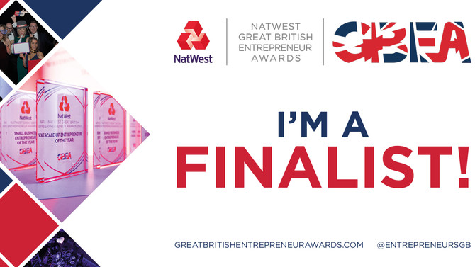Great British Entrepreneur of the year  (For Good)