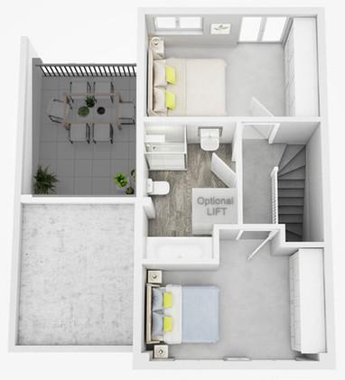 The Tellus Second Floor