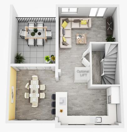 The Tellus First Floor