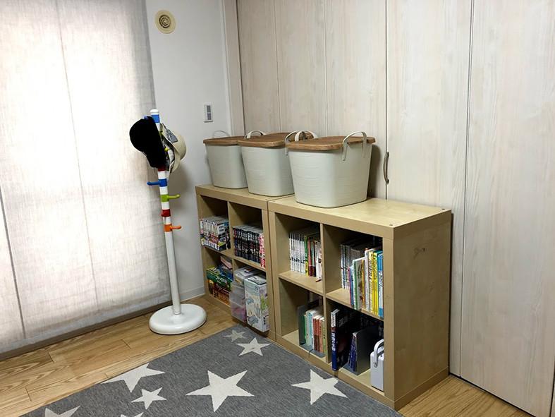 整理収納 子供部屋写真絵本