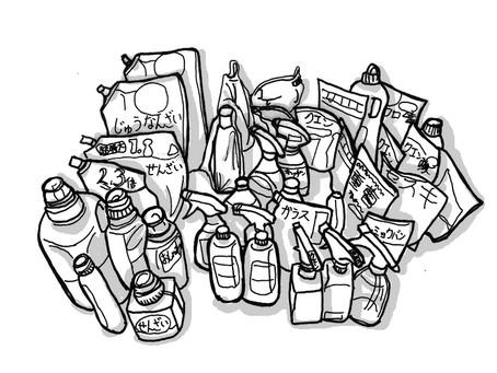 【整理収納】洗剤類収の片付け①~奥にある物が取り出せない~