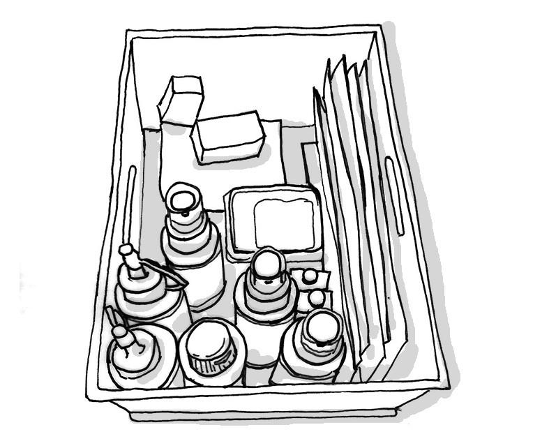 新しい洗剤 収納ボックス