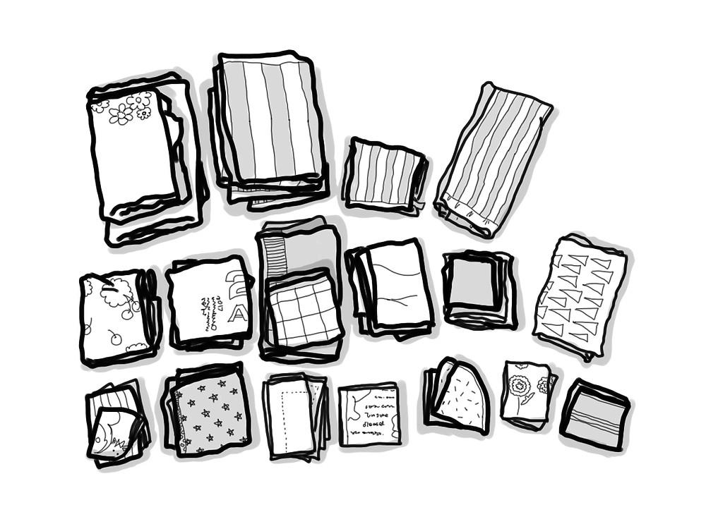 整理収納 タオルの種類
