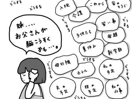 【終活】やっぱり!独居老人問題!脳梗塞か?!