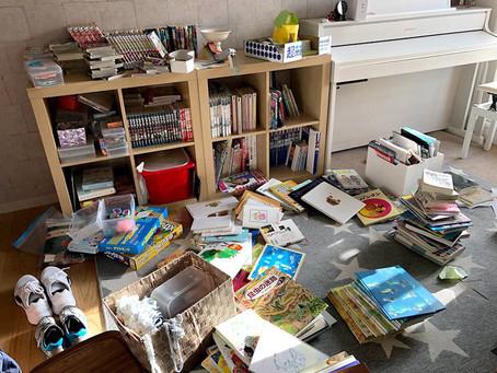 【我が家の本棚】この本捨てる?~子供本棚の整理②~