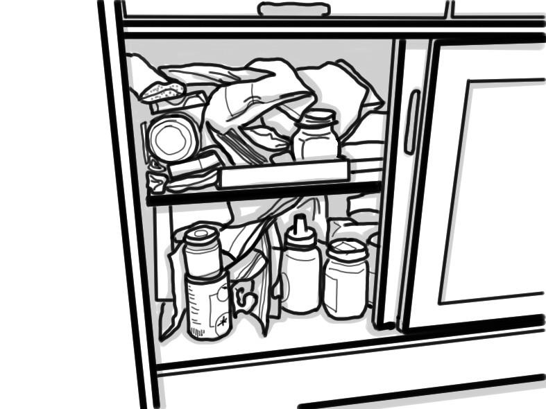 整理収納 キッチン収納 乾物