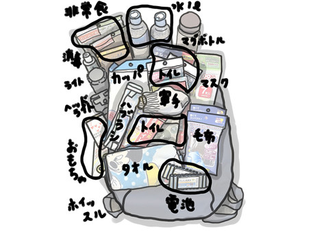 【我が家の防災】防災バッグ作りました!②~私の性格がね~
