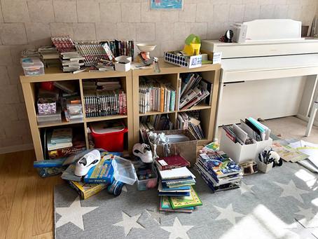【我が家の本棚】寒い部屋が荒れました~子供本棚の整理①~