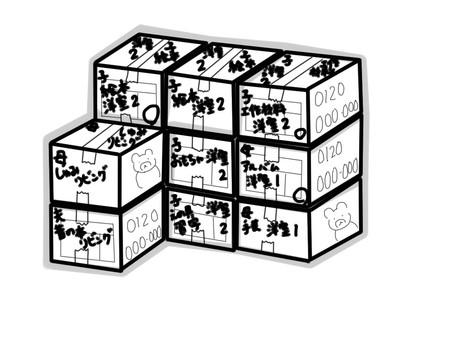 【整理収納】引っ越しの極意②~すぐ使う物ボックス~