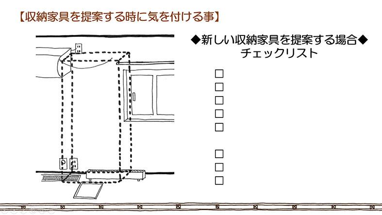 整理収納アドバイザー向け 図面講座内容02