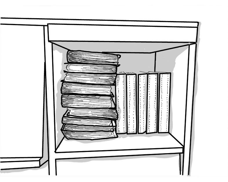 整理収納 年賀状のファイル