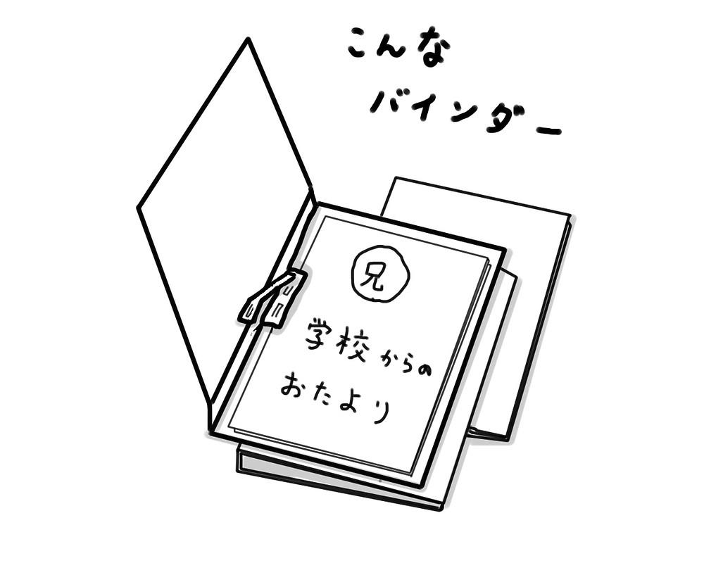 整理収納 学校書類ファイル