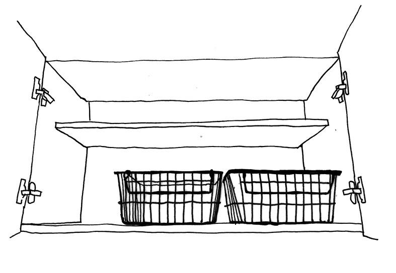 洗剤収納 カゴ