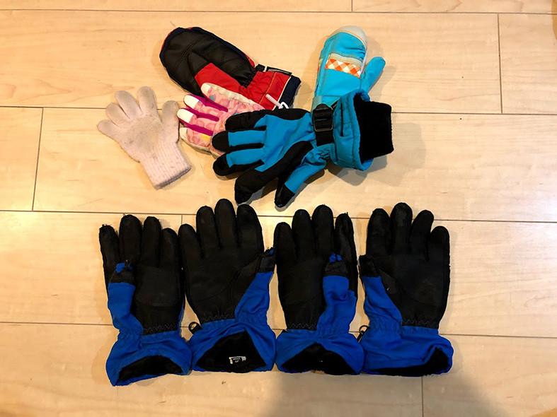 片っぽの手袋