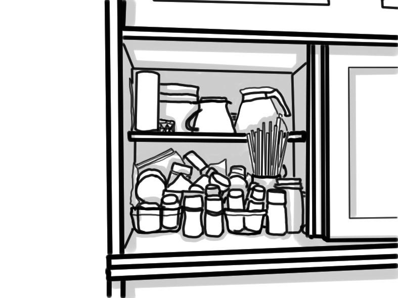 整理収納 キッチン収納 スパイス