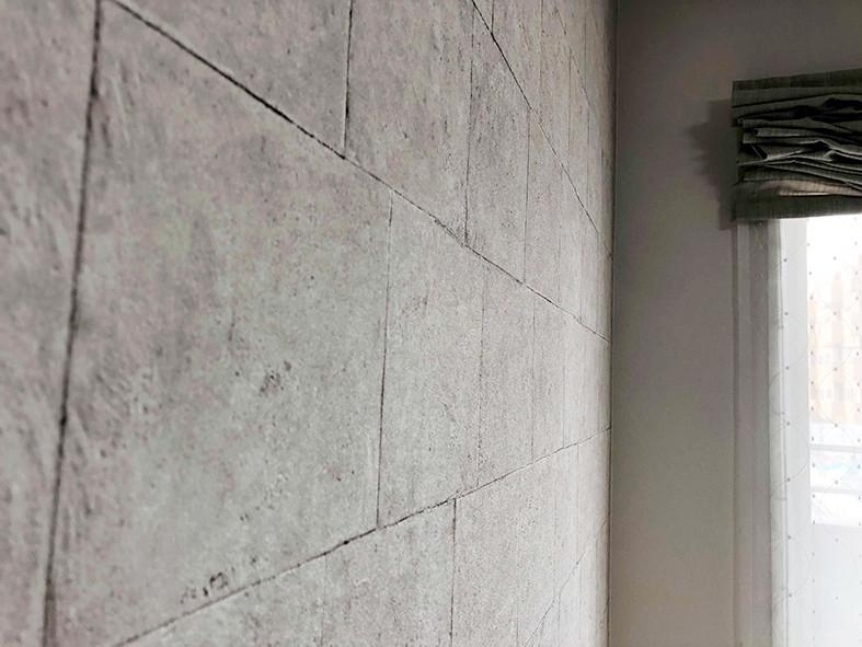 整理収納 壁がツルツル写真