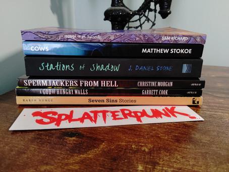 SPLATTER CAFÉ TOP-5 MUST-READ SPLATTERPUNK BOOKS!