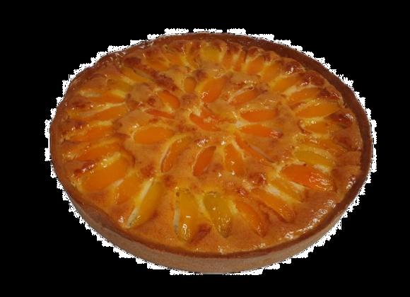 Tarte amandine abricots