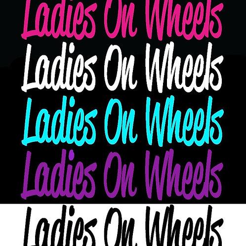 Collant Ladies On Wheels