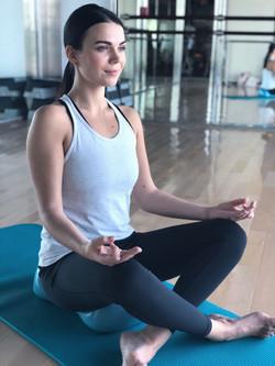 Yoga Atmenübungen auf Air8