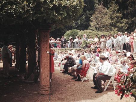 A Gatsby inspired Garden Wedding