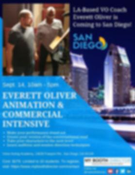 Everett Oliver 1-Day San Diego Workshop