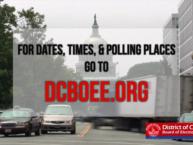 It's time to VOTE, DC!