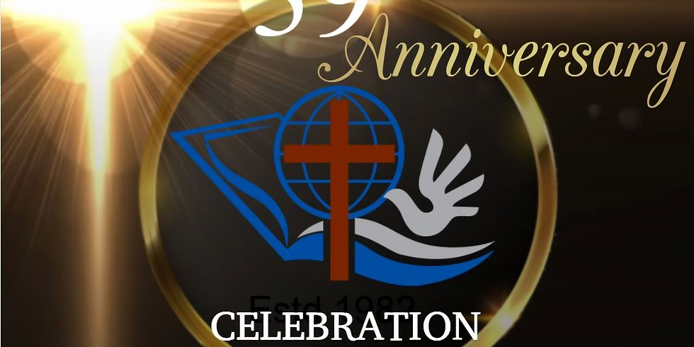 Celebrating ECF Church Anniversary  Sunday Service   8:00 AM   04-July-2021