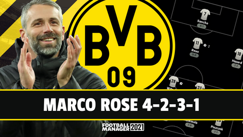 Marco Rose 4-2-3-1 Tactic & What Dortmund Can Expect