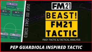 FM21 Tactic Inspired By Pep Guardiola - Die Bayern v.2 by Strikerless