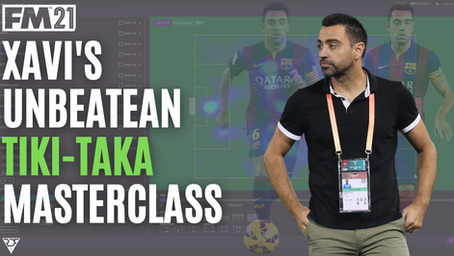 Xavi Hernandez - Al Sadd - Tactical Analysis