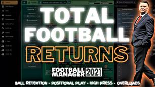 VIDEO: Dutch TOTAL FOOTBALL Returns!   fm21 tactics & van Gaal Analysis