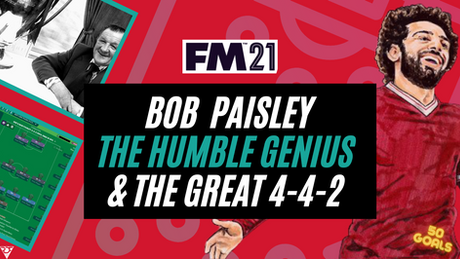 Bob Paisley - The Genius and 4-4-2 That Changed Liverpool F.C Forever.