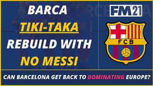 VIDEO: Barca Tiki Taka Rebuild With NO Messi