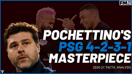 Pochettino PSG Tactic - 4-2-3-1 Masterpiece