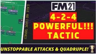 VIDEO: MOST POWERFUL 4-2-4 : Unstoppable Attacks (QUADRUPLE)