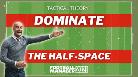 Dominate the Half-Space | Tactical Theory | FM21 Tactics
