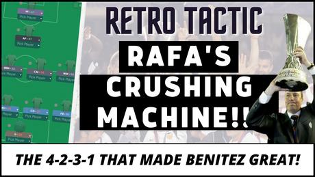 RETRO! Rafa Benitez's Valencia - The Crushing Machine! FM21 tactics