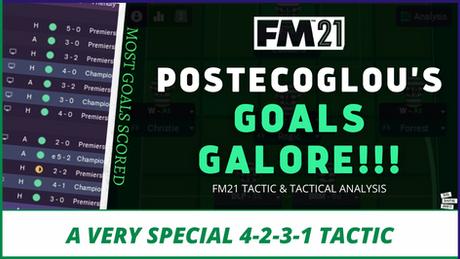 VIDEO: GOALS GALORE! High-Scoring Ange Postecoglou Celtic Tactics | Best FM21 Tactics