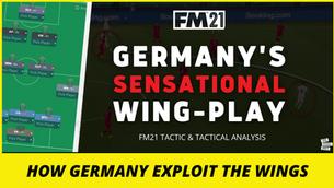VIDEO: Sensational Germany Tactic | Wing Exploits | FM21 tactics