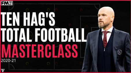 ERIK TEN HAG - AJAX - TACTICAL ANALYSIS