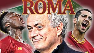 Jose Mourinho A.S Roma Tactical Analysis | FM21 tactics