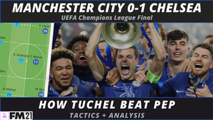 VIDEO: Man City vs Chelsea UCL Final Tactical Analysis