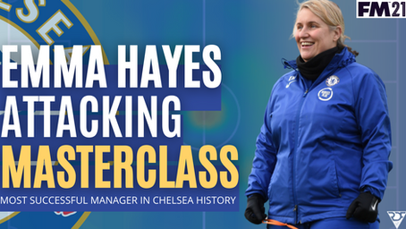 Emma Hayes -Tactical Analysis - The Most Successful Manager In Chelsea History