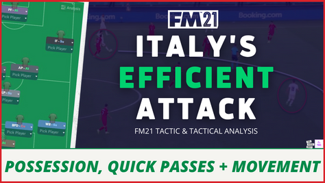 VIDEO: Italy's Sensational Attack: Italy Tactical Analysis EURO2020
