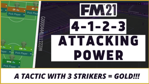 VIDEO: FM21 TACTIC WITH 3 STRIKERS! GOAL MACHINE TACTIC