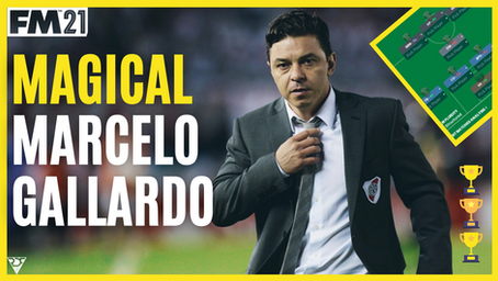 Marcelo Gallardo Tactics - River Plate Tactical Analysis - Best FM21 Tactics