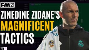 Zidane Magnificent Tactics | Real Madrid Tactical Analysis