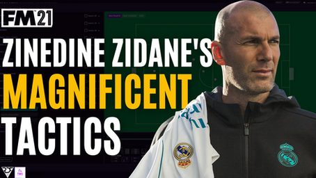 Zidane Magnificent Tactics | Real Madrid Tactical Analysis