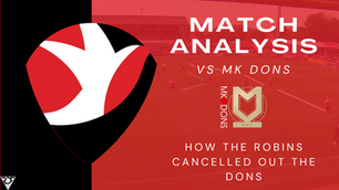 How the committed Cheltenham Town canceled out The Dons - Tactical Analysis